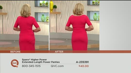 79edbb63eb1 Spanx Higher Power Extended-Length Power Panties. Back to video. On-Air  Presentation