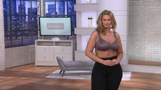 9990ecdced553 Breezies Safari Lace Seamless Wirefree Support Bra. Back to video. On-Air  Presentation