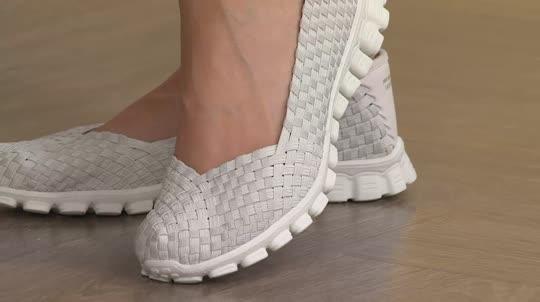 Woven Stretch Shoes Fashion Dresses