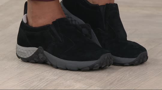 Merrell Suede Slip-on Shoes - Jungle Moc AC+ - Page 1 — QVC.com 51694b11c4be