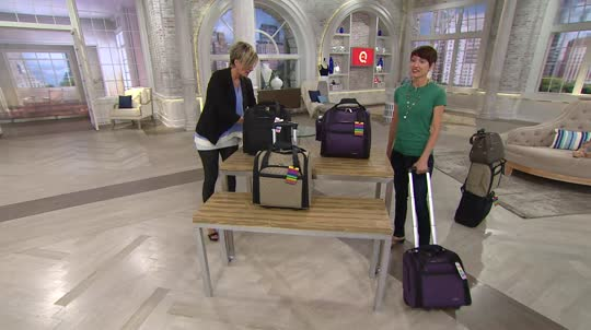 a705a876df9d Travelon Wheeled Underseat Carry On Bag. Back to video. On-Air Presentation
