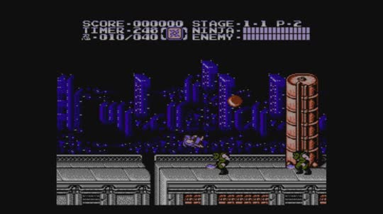 WiiUVC-Ninja-Gaiden-II-The-Dark-Sword-Of-Chaos-Trailer-enGB