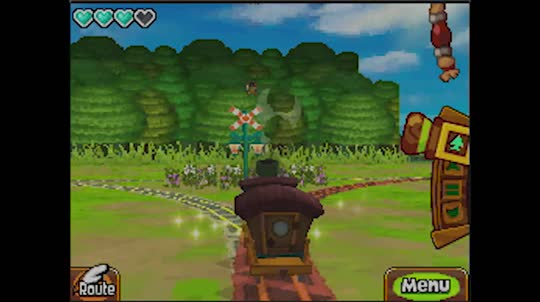 the legend of zelda spirit tracks nds