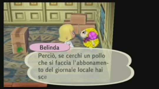 Incontri Animal Crossing City Folk