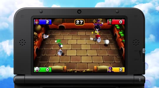 Mario Party Island Tour Nintendo 3ds Juegos Nintendo