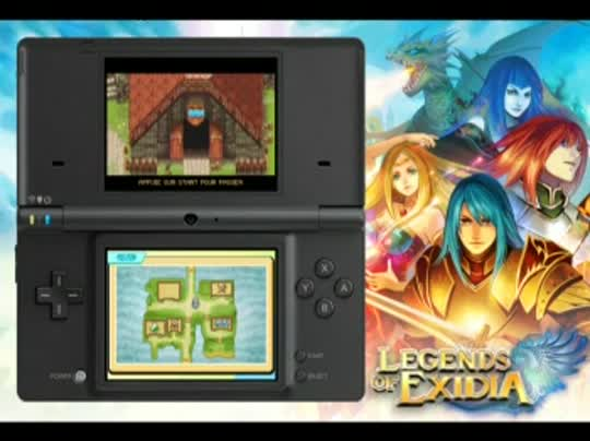 DSiWare-Legends-Of-Exidia-Trailer-frFR