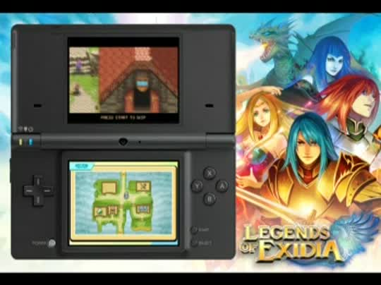 DSiWare-Legends-Of-Exidia-Trailer-enGB