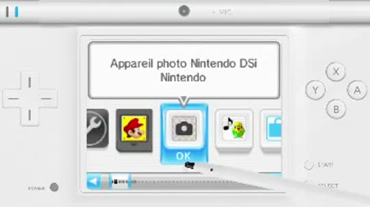 Appareil photo Nintendo DSi
