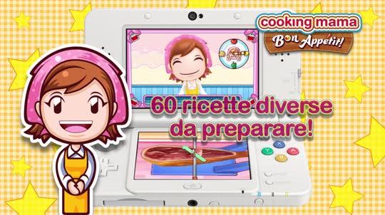 Quante ricette ci sono in cooking mama