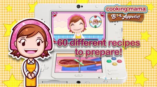 Cooking Mama Bon App 233 Tit Nintendo 3ds Games Nintendo