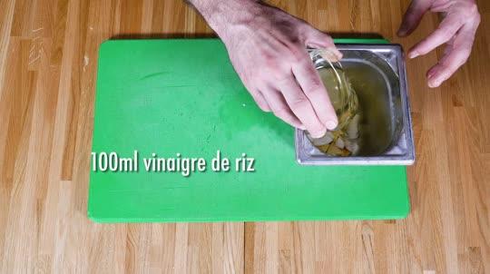 Vidéo Recette - La Gamelle Salade de Poulet Tomatsu